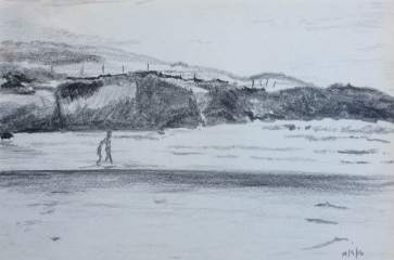 Cow Strand, Sherkin Island - pencil