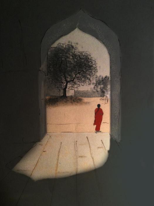 digital painting-heterotopic place